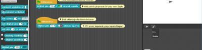 Snap4Arduino Uygulama 1: LED nasıl çalışır (LED Aç-Kapat)