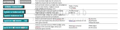 Sık kullanılan Snap4Arduino Görev Kartları (Standart)