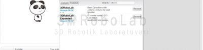 3DRoboLab Mblock Kütüphanesi
