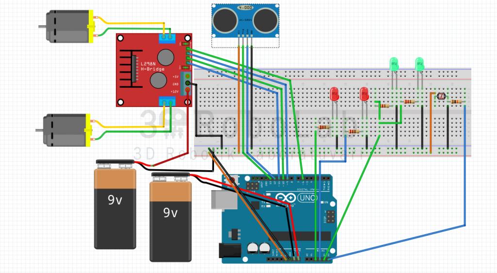 Işık sensörü kullanarak araç far yapımı