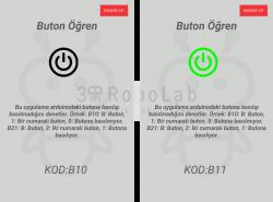 Mblock ve 3DRobolab Mobil Uygulaması İle Buton Kullanımı