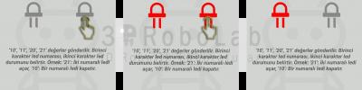 Mblock ve 3DRobolab Mobil Uygulaması İle Birden Fazla Led Kullanımı